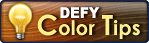 Defy Hardwood color tips