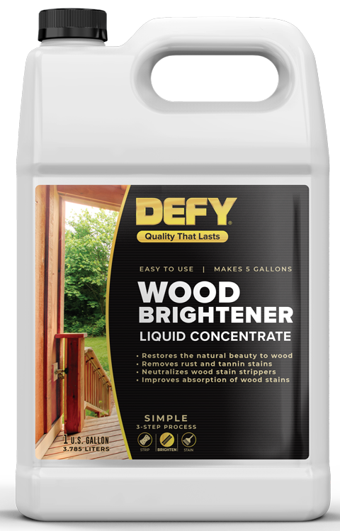 Defy Exterior Wood Brightener
